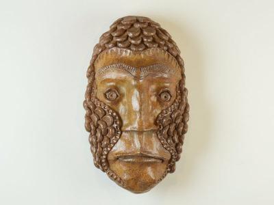 Salt-fired mask